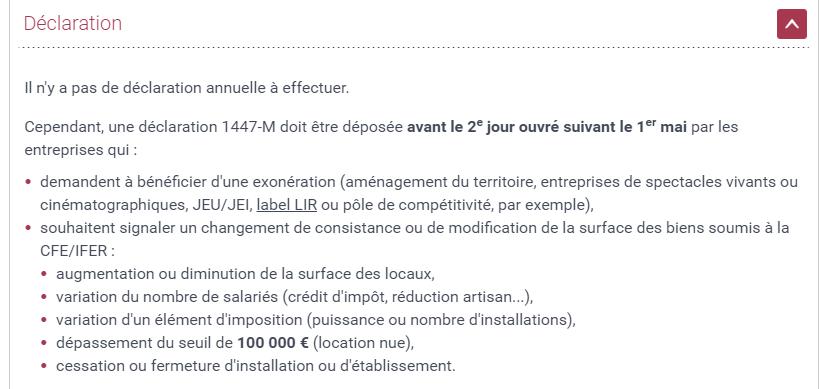 Paiement De La Cotisation Fonciere Des Entreprises Cfe Pragmatic
